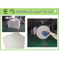 China Strong Stiffness White Cardboard Sheets 400gsm Paper Moisture Proof wholesale