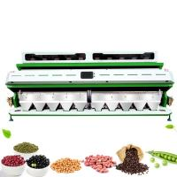 Quality Optical Bean sorting machines CCD 10 Chutes Bean Color Sorter for sale