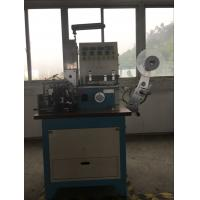 China Ultrasonic And Automatic Automatic Ribbon Cutter For Printed Lables , Label Folding Machine wholesale