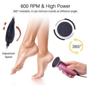 China Cxfhgy Electric Pedicure Tools Foot Care File Leg Heels Remove Dead Skin Callus Remover Feet Clean Care Machine & Replac on sale
