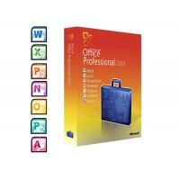 China Full Version Microsoft Windows Softwares / 2010 Professional Plus  DVD Activation wholesale