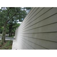 Wood Look Fiber Cement Panel Siding Modern Building Material For Wall Decoration