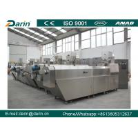 China High yield automatic stainless steel material with various shapes of extruded food twin screw extrusion line wholesale