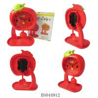 China Apple Shape Table Clock for Home Decoration wholesale