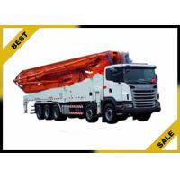 China Factory Price 24m Meter Mounted Concrete Boom Pump Truck 132/140 W CE ISO wholesale