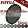 China 72mm Fotga Digital SLR Camera Variable Neutral Density Fader ND Filter ND2 to ND400 wholesale