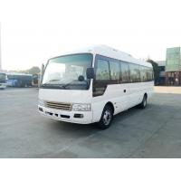 China Drum Brakes Dry Type Clutch Inter City Buses Coach 30 Passengers Small Bus wholesale