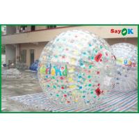 China Customized Giant Inflatable Zorbing Ball For Inflatable Sports Games on sale
