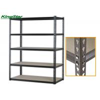 China Chipboard Shelving Boltless Storage Shelving 123 Cm Long 300Kg Maximum Capacity on sale