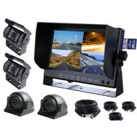 """Buy cheap 4CH 7"""" TFT Car Monitor wogan truck Cameras DVR system with 32 GB SD card from wholesalers"""