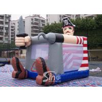 Quality Commercial grade small indoor kids pirate inflatable bouncy castle for outdoor parties for sale