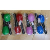 China Plastic Kids Musical Instrument Cute Colored Orff Plastic Maracas wholesale
