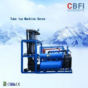 China Easy Operation Edible Ice Tube Machine Germany Bitzer Engine / Water Cooling wholesale