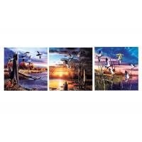 China Nature & Landscape Mounted Art Print 3d Lenticular Image For Decoration 120x40cm wholesale