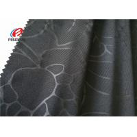 China Embossed Customized Design Soft Knit Fabric 90% Polyester 10% Spandex Material on sale