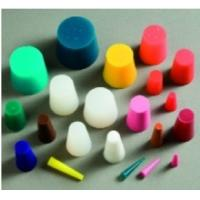 China Personalised Shaped Silicone Stopper With Hole , Soft Silicone Bungs For Wine Barrels wholesale