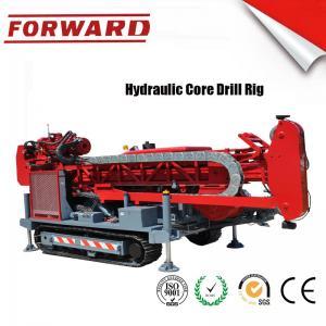 China 147 KW C5 Diamond Full Hydraulic Surface Core Drilling Rig Crawler Mounted wholesale