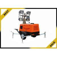 China 4 Pivot Legs Light Tower Generator Double Wall Sub - Fueltank , Construction Light Towers Tail Light Kit wholesale