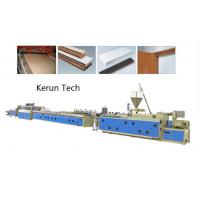 Quality Window Ceiling Wall Panel Plastic Profile Extrusion Line / PVC Profile Extruder for sale