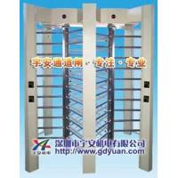 China RS485 304 Stainless Full Height Turnstile with Double / Single Channel wholesale