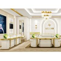 China Jewellery Showroom Furniture / Custom Display Cases Professional 3D Design wholesale