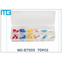 China 70PCS  Terminal Assortment Kits for  FDD Quick Disconnects with avarious colors ,CE certificated wholesale