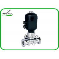 China Pharmaceutical Sanitary Diaphragm Valve , Plastic Case Pneumatic Diaphragm Valve wholesale