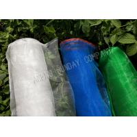 China 1.8m Width Crop Protection Net , Red And Blue Edge Plastic Screen Mesh wholesale