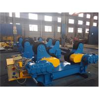 China Customized Blue Bolt Adjustable Tank Vessel Pipe Welding Rollers Stands With Trolley wholesale