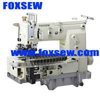 China 12-needle Flat-bed Double Chain Stitch Sewing Machine (tuck fabric seaming) FX1412PTV wholesale