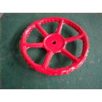 Innovative Style Red Metal Hand Wheel Lightweight Auto CAD Design For Valve