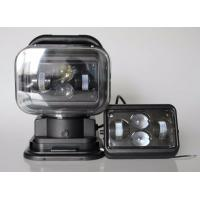 China 7 Inch Square Led Marine Searchlight , 30 Degee Spot 12v Truck Led Headlights wholesale