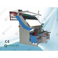 China Mutifunction Fabric Inspection Machine With Cutting Device Attachment on sale