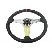 China Security Race Car Steering Wheel With Environmental Protection Material wholesale