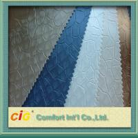 China Classical Color Embossed Pvc Automobile Upholstery Leather Fabric 0.6 - 1.2mm Thick wholesale
