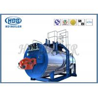 China Oil Fired / Gas Fired Steam Boiler , Industrial Steam Generators High Efficiency wholesale