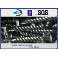 China Rail Screw & Spikes,  Spiral Spikes for railway fastening system wholesale