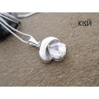 China Unique Design Fashion Jewelry 925 Sterling Silver Gemstone Pendant with Zircon W-VB970 wholesale