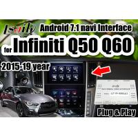 China Android 7.1 Multimedia Video Interface support wireless carpaly/Android auto for Infiniti 2015-2019 Q50 Q60 wholesale