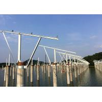 China Precast Pile Fishing Light Complementary Solar Pv Mounting Systems Customized wholesale