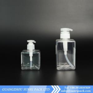 China Foaming Face Wash bottle, square bottle with foam pump, PETG bottle wholesale