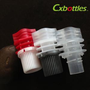 China Different Style Diameter 8.6 Millimeter Plastic Spout Cap For Plastic Doypack wholesale