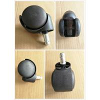 China Black Nylon casters for furniture / office chair / sofa , Easy installation wholesale