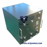 Buy cheap Waterproof Vehicle Mounted Mobile Phone Signal Jammer 700 Watt For Drone GPS from wholesalers