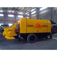 China 30m3/h Trailer Mounted Concrete Pump Diesel Engine Concrete Mixer Pump wholesale