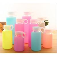 China Food Grade Silicone Bottle Sleeve High Temp Tolerance For Glass Ceramic Bottle wholesale
