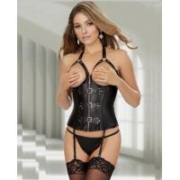 Quality Adult Lingerie Costumes Leather Garter Slip for sale