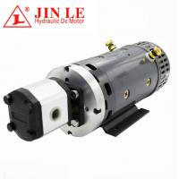 China ZD2371 24V Hydraulic DC Motor , 4KW DC Motor CW Rotation With Gear Pump wholesale