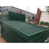 China Corrosion Resistance Mesh Wire Cross Square Pipe Frame Mountain Forest Fence wholesale