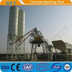 China ECO Friendly 180m3/h HZS180 Stationary Batching Plant wholesale